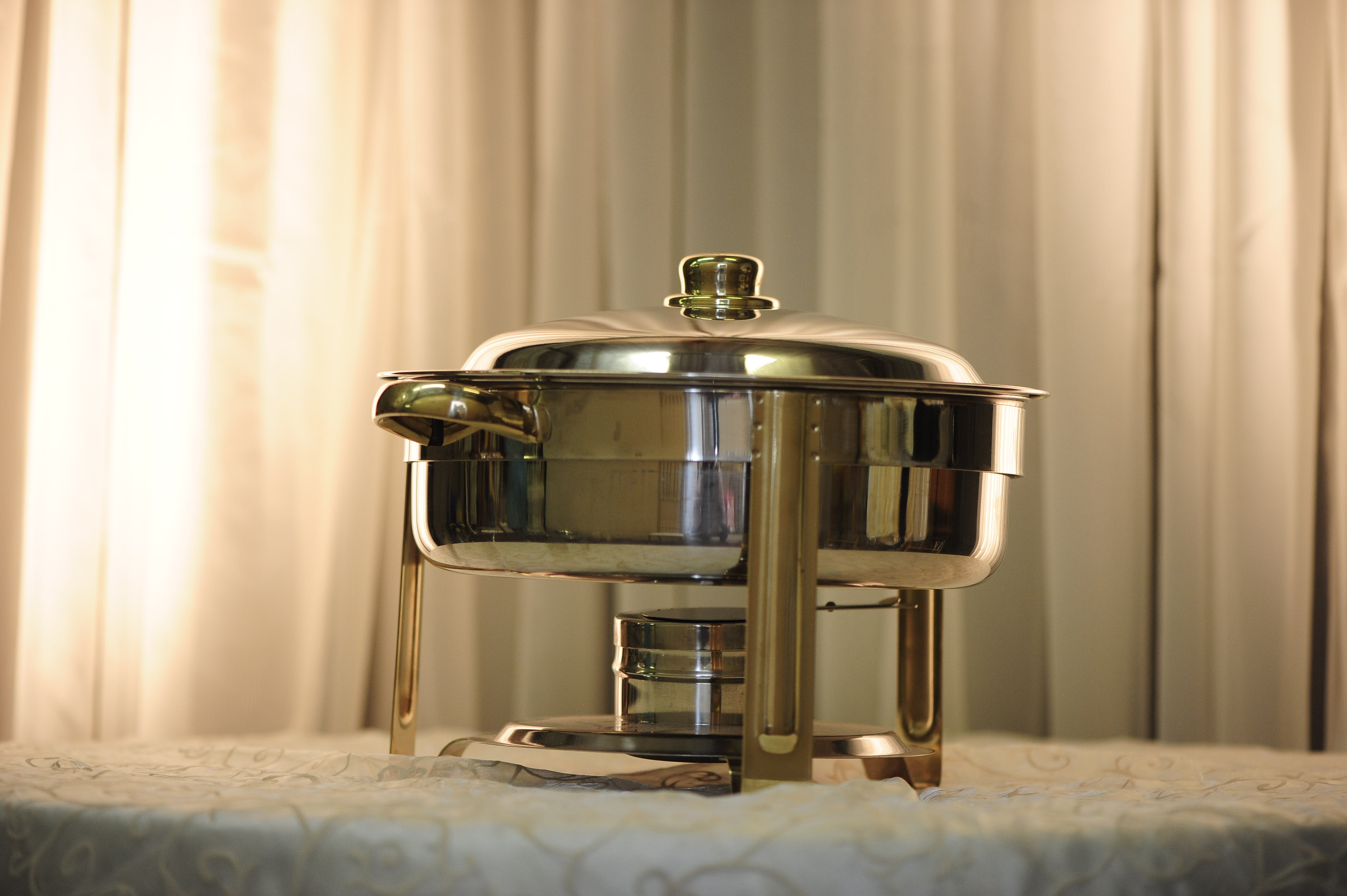 Food Warmer Rentals ~ Food warmer chafing dish quarts round stainless