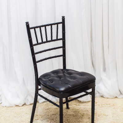 black chiavari chairs for rental for weddings and events